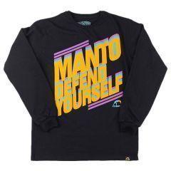 Лонгслив Manto Defend black