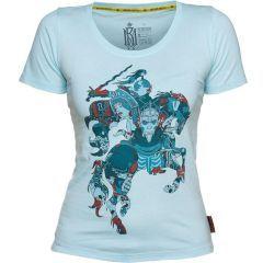 Женская футболка Mother Russia Всадник