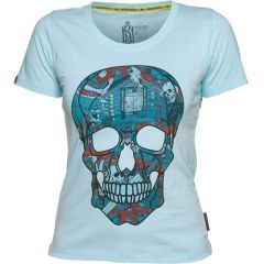 Женская футболка Mother Russia Череп