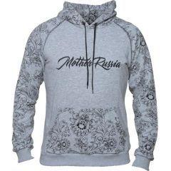 Худи Mother Russia Хохлома - gray