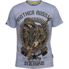 Футболка Mother Russia Сталинград - gray
