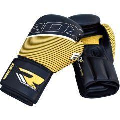 Боксерские перчатки RDX BGR F6 yellow