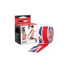 Кинезио тейп Rocktape Design, 5см х 5м, британский флаг