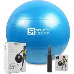 Фитнес-мяч Sweet Sweat blue