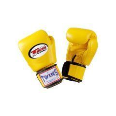 Детские боксерские перчатки Twins Special yellow