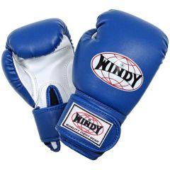 Детские боксерские перчатки Windy BGC BLUE