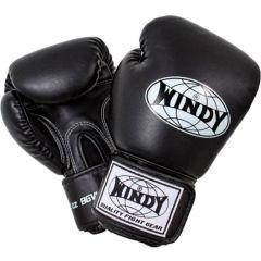 Боксерские перчатки Windy black