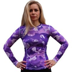 Женский рашгард Aim Military Uniqueness Skin Purple