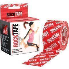 Кинезио тейп Rocktape, 5см х 5м, красный лого