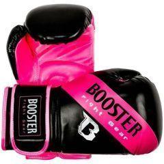 Боксерские перчатки Booster Sparring black - pink