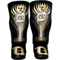 Детские шингарды (накладки на ноги) Booster SG Pro black - gold