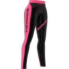 Женские компрессионные штаны Smmash Go Candy black - pink