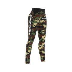 Женские компрессионные штаны Smmash Camo Green