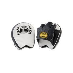 "Боксерские фокус лапы Top King Boxing ""Professional"" black - white"