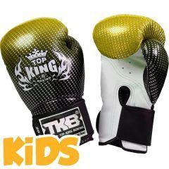 Детские боксерские перчатки Top King Boxing Super Star gold