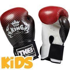 Детские боксерские перчатки Top King Boxing Super Star red