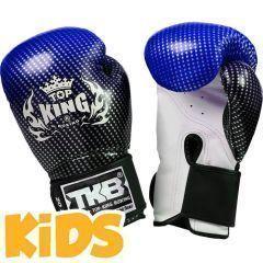 Детские боксерские перчатки Top King Boxing Super Star blue