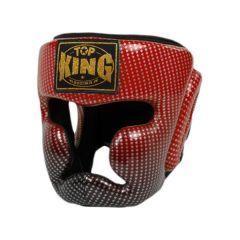 Шлем боксерский Top King Boxing Super Star red