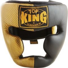 Шлем боксерский Top King Boxing Empower Creativity black - gold
