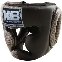 Шлем боксерский Top King Boxing Empower Creativity black - gray