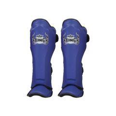 Защита голени (шингарды) Top King Boxing Pro blue
