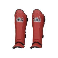Защита голени (шингарды) Top King Boxing Pro red