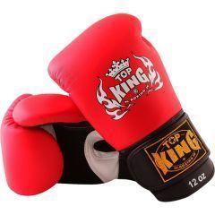 Боксерские перчатки Top King Boxing Air red
