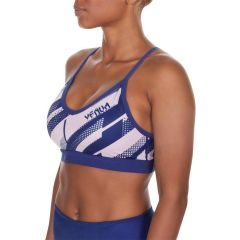 Женский тренировочный топик Venum Rapid Sport Bra blue