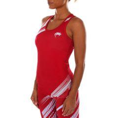 Женская тренировочная майка Venum Rapid red