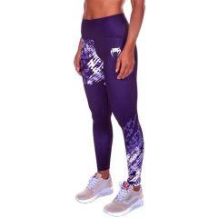 Женские компрессионные штаны Venum Neo Camo Dark Purple