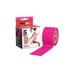 Кинезио тейп Rocktape, 5см х 5м, розовый