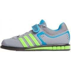 Штангетки Adidas Powerlift 2.0 grey - green