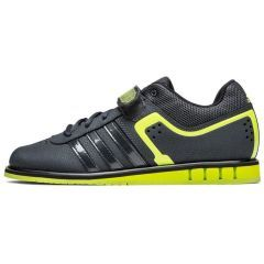 Штангетки Adidas Powerlift 2.0 Dark Grey - Solar Yellow - Core Black