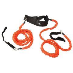 Амортизатор для скоростных тренировок Adidas Speed Resistor черно-оранжевый