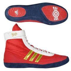 Борцовки Adidas Combat Speed.4 красно-золотые
