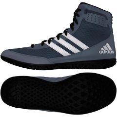 Борцовки Adidas Mat Wizard.3 серо-белые