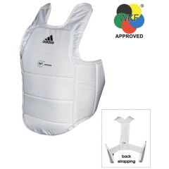Защита корпуса Adidas Chest Guard WKF белая