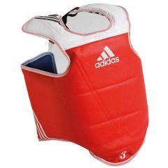 Защита корпуса двухсторонняя Adidas Adult Body Protector Reversible WTF сине-красная
