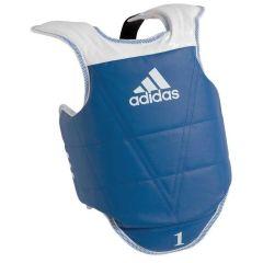 Защита корпуса двухсторонняя Adidas Kids Body Protector Reversible WTF сине-красная