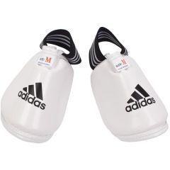 Защита подъема стопы для тхэквондо Adidas WTF Instep Guard белая
