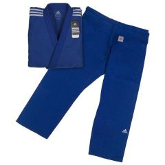 Кимоно для дзюдо Adidas Champion 2 IJF Slim Fit синее