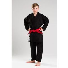 Кимоно для карате Adidas Club Black WKF черное