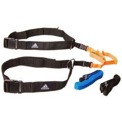 Набор реакционных ремней Adidas Reaction Belt черно-оранжево-синий
