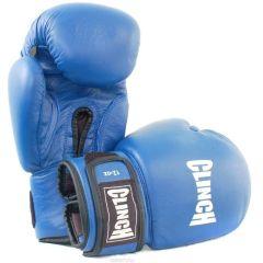 Перчатки боксерские Clinch Leather синие