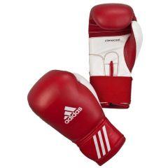 Перчатки боксерские Adidas Performer красно-белые