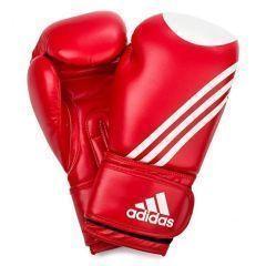 Перчатки для кикбоксинга Adidas Ultima Target WACO красно-белые