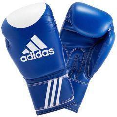 Перчатки для кикбоксинга Adidas Ultima Target WACO сине-белые