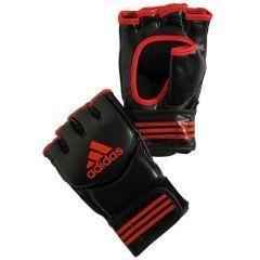 Перчатки для смешанных единоборств Adidas Traditional Grappling черно-красные