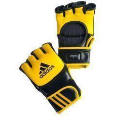 Перчатки для смешанных единоборств Adidas Ultimate Fight желто-черные