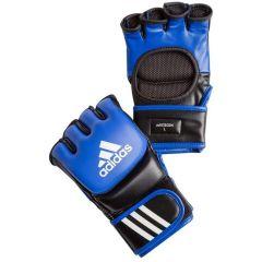 Перчатки для смешанных единоборств Adidas Ultimate Fight сине-черные